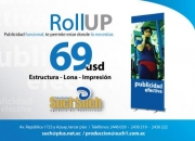 Banner roll Up 69usd