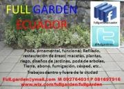 Jardineria, diseños y mantenimiento
