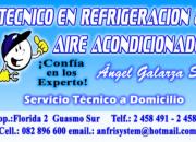 ANGEL GALARZA  TECNICO  EN  REFRIGERACION &   AIRE ACONDICIONADO Y CLIMATIZACION