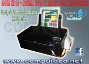 IMPRESORA EPSON TX130 CON SISTEMA DE TINTA CONTINUO