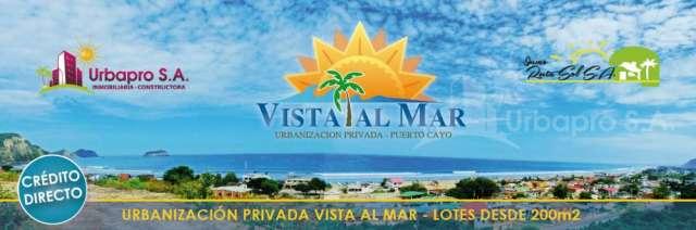 Urbanizacion vista al mar!!!! a 5 minutos de la playa de puerto cayo