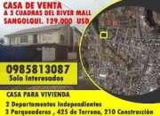 CASAS DE VENTA EN SANGOLQUI INF. AL 0985813087