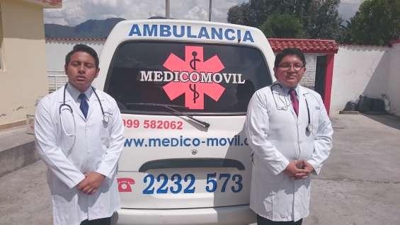 Asistencia medica a viajeros en quito.