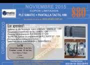 PLC SIMATIC+ PANTALLA TACTIL HMI - INICIO MIERCOLES 18 DE NOVIEMBRE