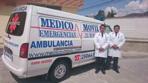 Medicomovil asistencia medica a turistas