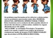 AYUDA PSICOLOGICA PARA NIÑOS/AS Y ADOLESCENTES CON PROBLEMAS EMOCIONALES