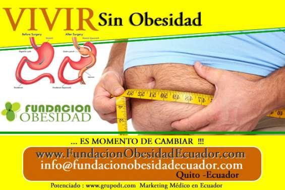 Fundaciones para operar obesidad