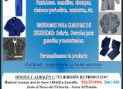 ROPA DE TRABAJO - Overoles,  chompas, pantalones,  chalecos,  camisas