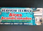 Servicio tecnico. mantenimientos de aires acondicionados, guayaquil