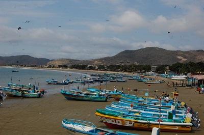 Playa de puerto lopez
