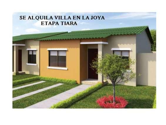 Alquilo casa urbanización la joya etapa tiara