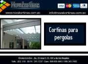 Venta de Cortinas para Pergolas en Quito.