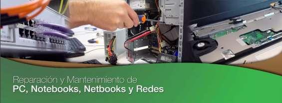 Reparación y mantenimiento de pc's, tablet, nootebooks