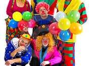 !!Fiestas Infantiles, Diversion payasos, personajes tv. Mago, Mimo, Hora loca $50