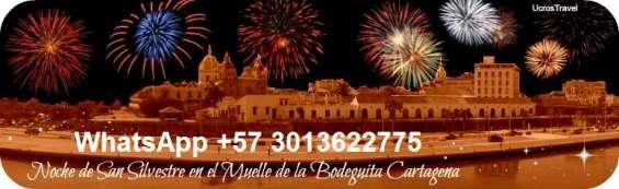 Fin de año 2017 bahía de cartagena colombia