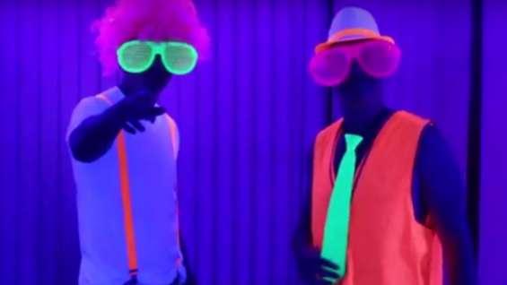 Luces originales para neon party
