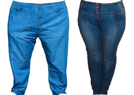 Pantalones jeans tallas xxxl