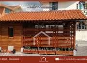 pèrgolas de madera, pergola en madera, jardín, decoración, metálicas- Quito, Pichincha, E