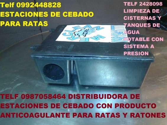 Telf 0981941777 venta de estaciones de cebado para ratas