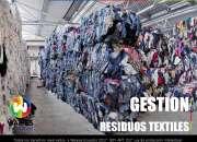 Compra y gestion de residuos textiles