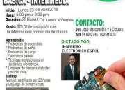 CURSO BÁSICA-INTERMEDIA PROFESIONAL REPARACIÓN CELULAR