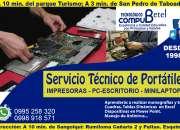 Servicio técnico para cybers en el Valle de los Chillos