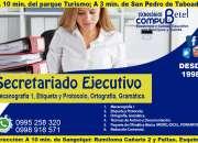 Curso de secretariado ejecutivo-administrativo en Rumiloma