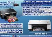 Curso de servicio técnico de impresoras Canon y Epson - Sangolquí