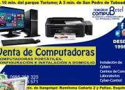 Computadoras en venta, reparación servicio técnico, portátiles
