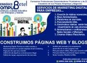 Servicios de construcción de páginas web para empresas - Rumiloma