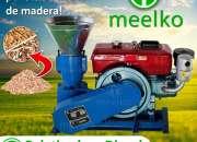 Peletizadora Meelko 150 mm 8 hp DIESEL para concentrados balanceados - MKFD150