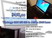 Venta de dos computadoras y un CPU en Compu Betel
