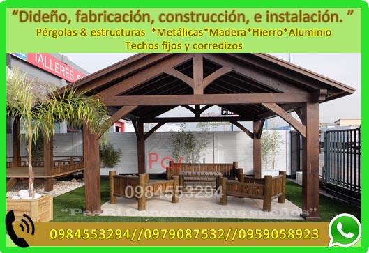 Pasbi,ecuador,quito,pichincha,cambio.pergola,decks,casasprefabricadas,madera,metal,paisaje