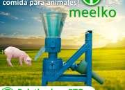 Peletizadora Meelko 150mm 8hp PTO para concentrados balanceados 80-130kg - MKFD150P