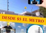 INSTALACIÓN DE CERCA ELÉCTRICA INTELIGENTE QUITO