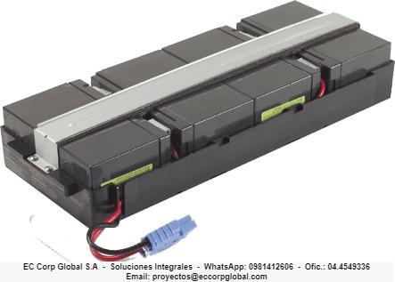 Módulos de baterías para ups