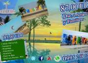 Paquetes de turismo a manta