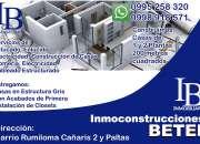 Diseño de planos construcción y venta de casas y propiedades. Rumiloma