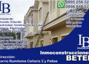 Servicio de construcción de casas - sangolquí