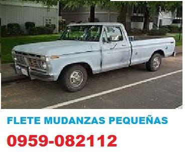 Flete mudanzas pequeñas guayaquil 0962708520