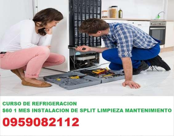 Curso de refrigeracion aprende a instalar split mantenimiento reparacion de nevera congela