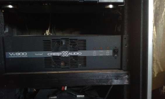 Vendo cambio potencia crest audio vs 900
