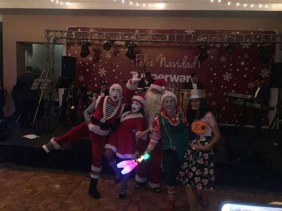 Show navideño papa noel y su duende cuenta cuentos 0968150140