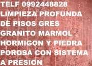 TELF 2428098 LIMPIEZA PROFUNDA DE PISOS DE TALLERES AUTOMOTRIS