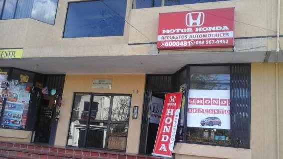 Honda repuestos automotrices corea