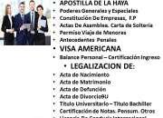Carta de Solteria, Carta de Residencia en Venezuela