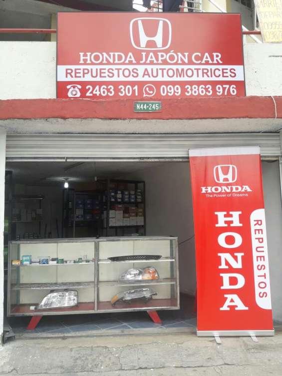 Repuestos y accesorios honda japon car envios a nivel nacional