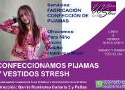 Confección de Pijamas para adultos y niños - Valle de los chillos