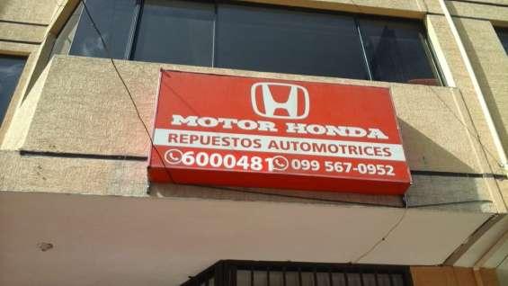 Honda repuestos valle de los chillos