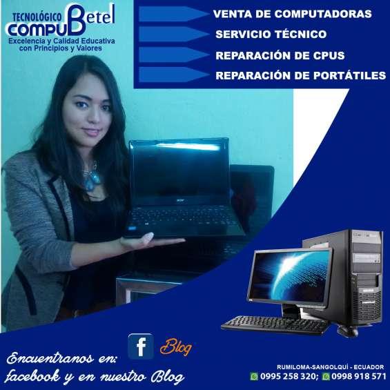 Compu betel servicio tecnico